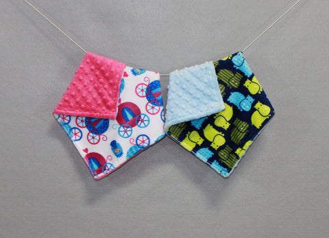 Minky Chenille Printed Blankee