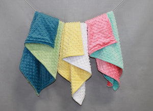 Minky Chenille Limited Edition Solid Baby Blanket