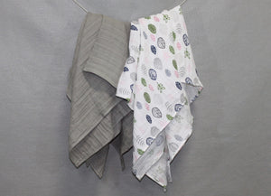 Limited Edition Muslin Swaddling Blankets