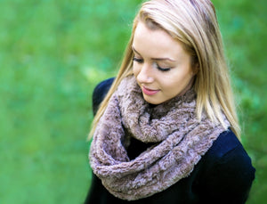 Women's Soft Cuddle Fur Infinty Scarf