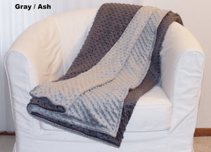 Minky Chenille Petite Throw