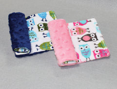 Minky Chenille Printed Strap Covers