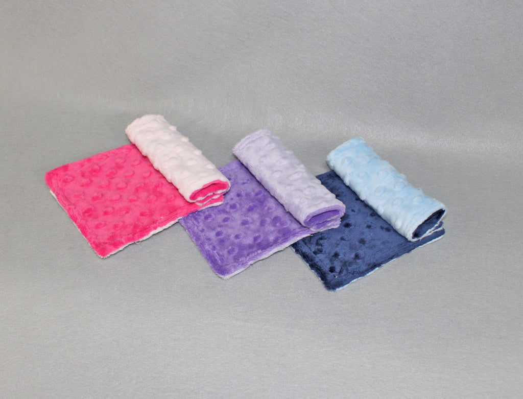 Minky Chenille Strap Covers