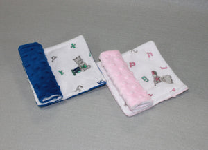Minky Chenille Big Reader Strap Covers