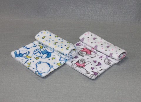 Minky Chenille Goodnight Teddy Strap Covers