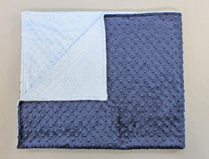 Minky Chenille Solid Toddler Blanket