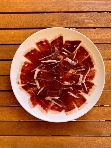 Jamon Iberico Acorn-fed. Red label