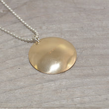 Load image into Gallery viewer, Sterling silver and 14k gold fill necklace (N653)