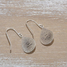 Load image into Gallery viewer, Dangle earrings in hand crafted settings of sterling silver and 14K gold fill. (E659)