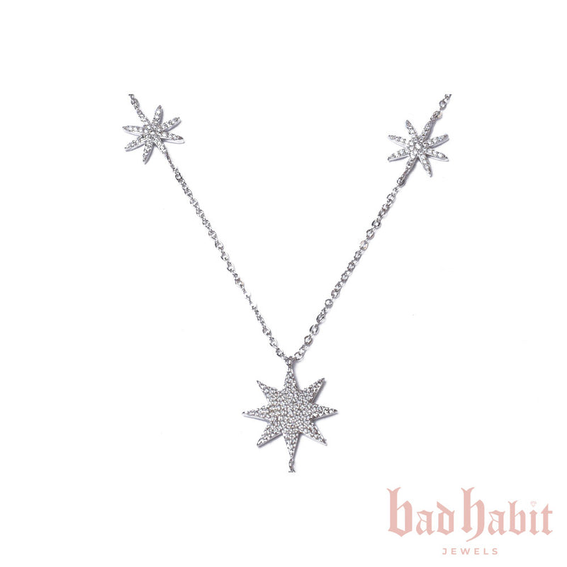 Star Charm Silver Necklace