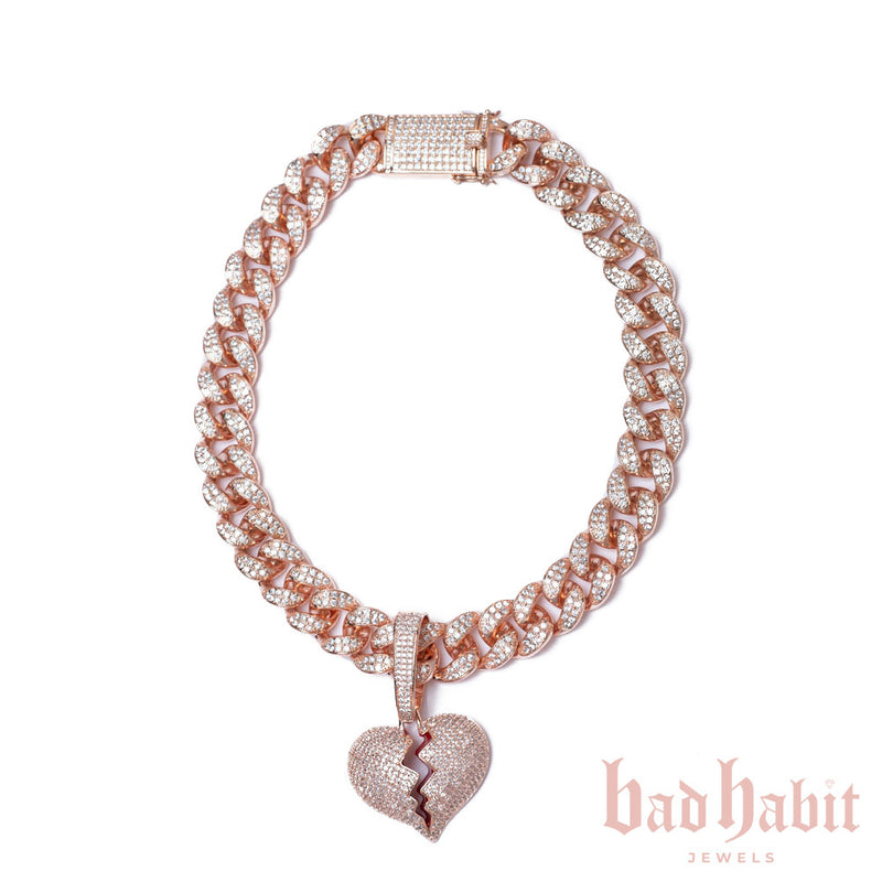 Heartbreaker Cuban Necklace