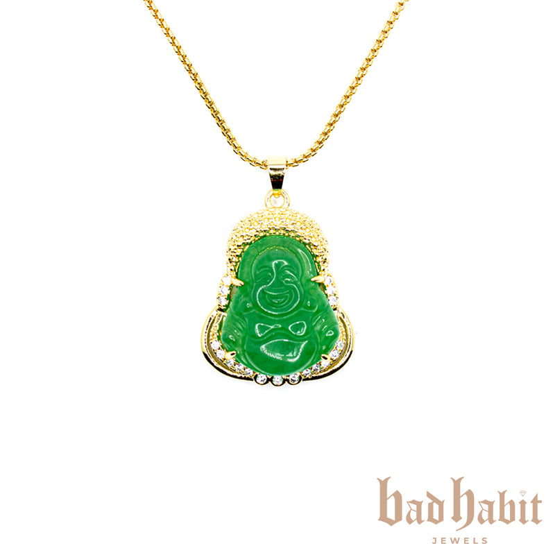 Pretty Buddha Necklace