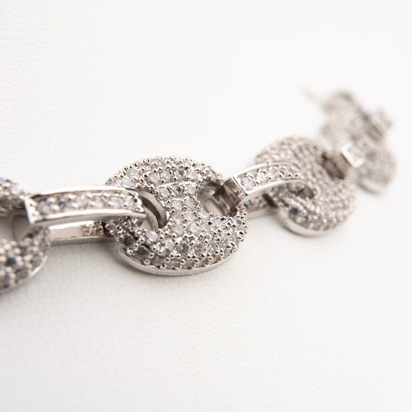 Crystal Diamond Cuban Link