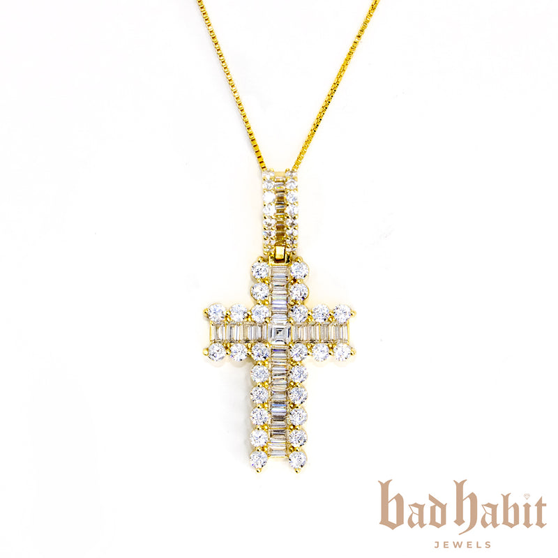 Iconic Gold Cross Necklace