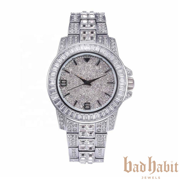 Icy Silver Watch