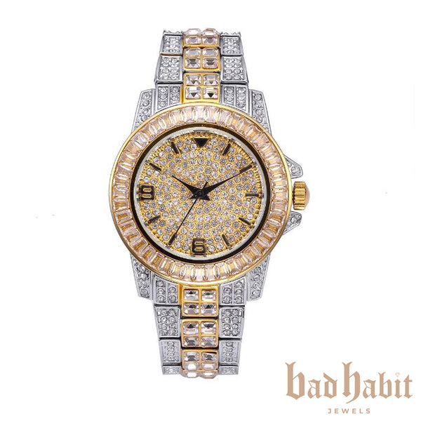 Icy Two Tone Diamond Watch