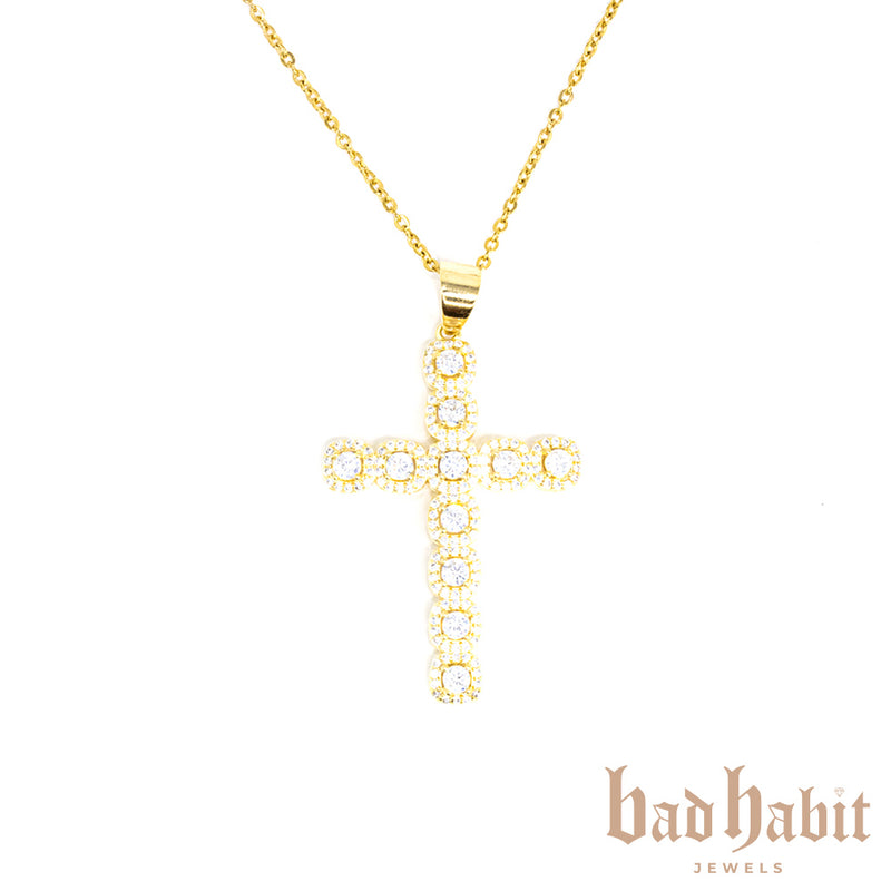 Classic Gold Cross Necklace