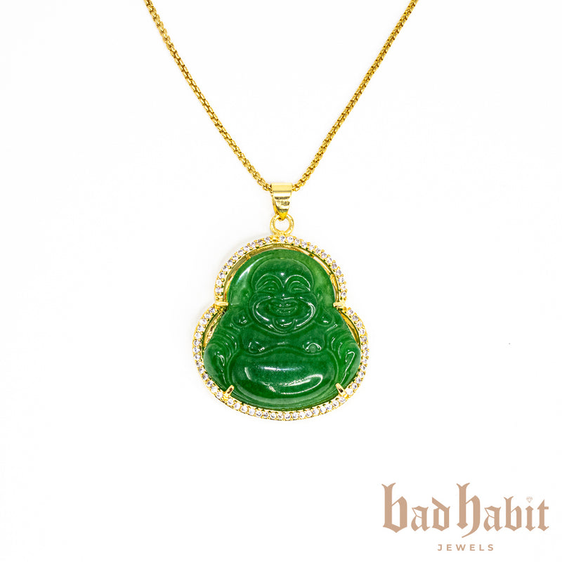 All Icy Mini Buddha Necklace