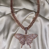 Rose Gold Butterfly Set