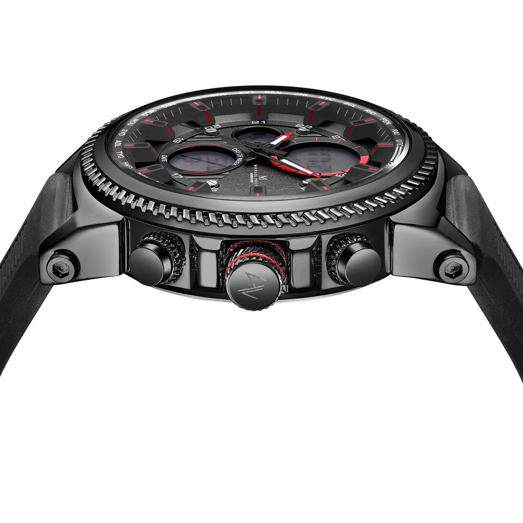 Adventurer I 48 mm Elite Silicone Volcanic Black