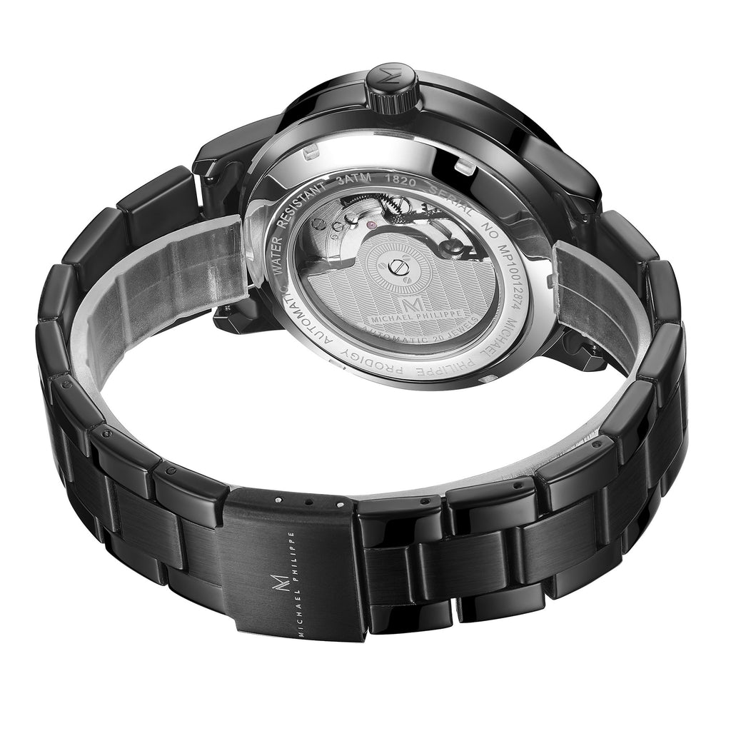 Prodigy I 42.5 mm Oyster Steel Link Stratan Silver