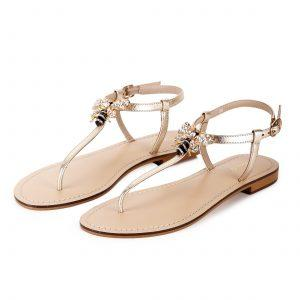 Saint Bergen Sandals – Gold - SaintG India