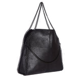 Saint Vincentia Metallic leather  handbag - SaintG India