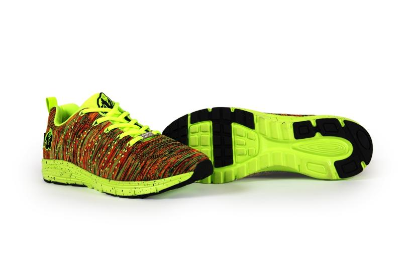Brooklyn knitted sneakers - Neon mix