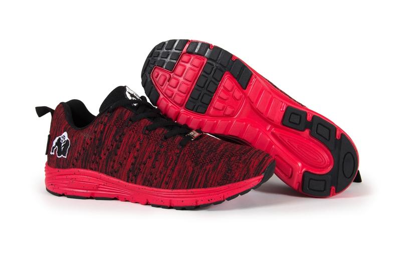 Brooklyn knitted sneakers - Red/Black