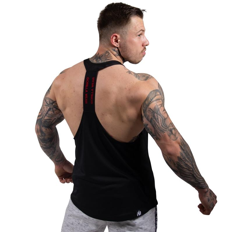Nashville Tank Top - Black/Red