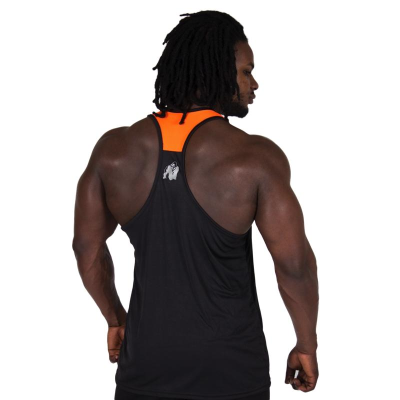 Lexington Tank Top -Black/NeonOrange