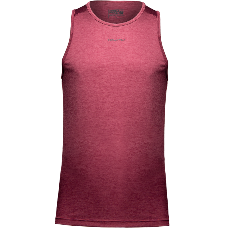 MADERA TANK TOP - BURGUNDY RED