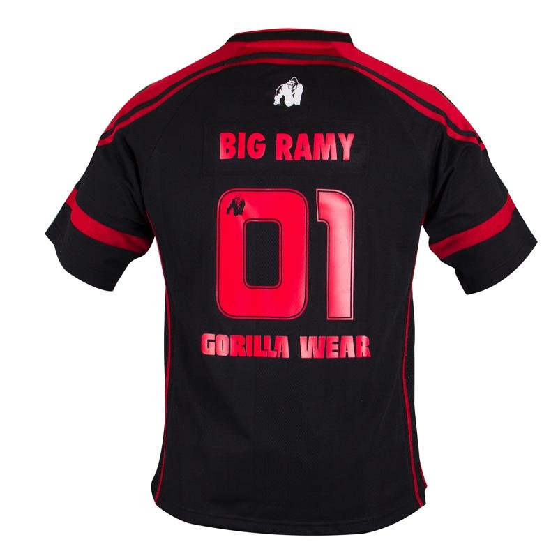 GW Athlete T- Shirt Big Ramy Black/Red
