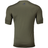 BRANSON T-SHIRT ARMY GREEN/BLACK