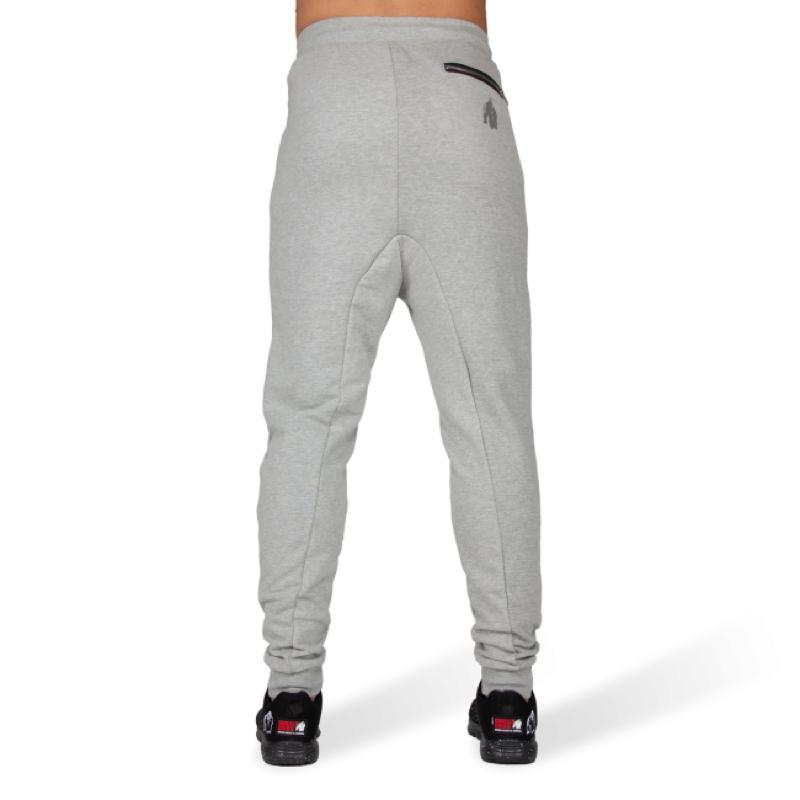 Alabama Drop Crotch Joggers - Gray