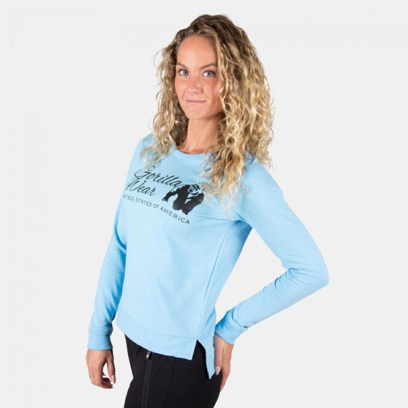 Riviera Sweatshirt -Light Blue