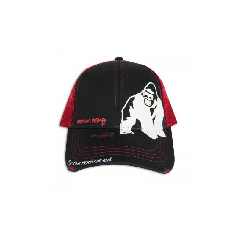 Trucker Cap Black/Red