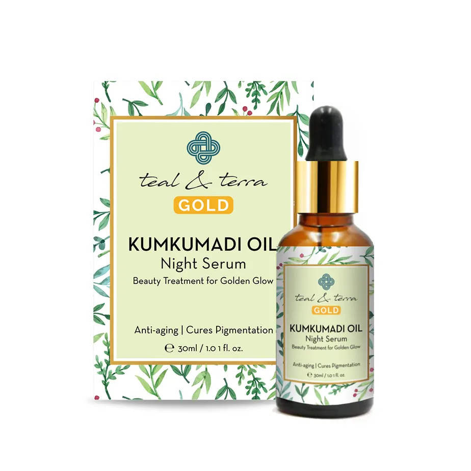Kumkumadi Oil - Anti-Ageing Kumkumadi Tailam for Pigmentation, 30ml