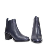 Saint Olivia Blue Leather Ankle  Boots - SaintG India