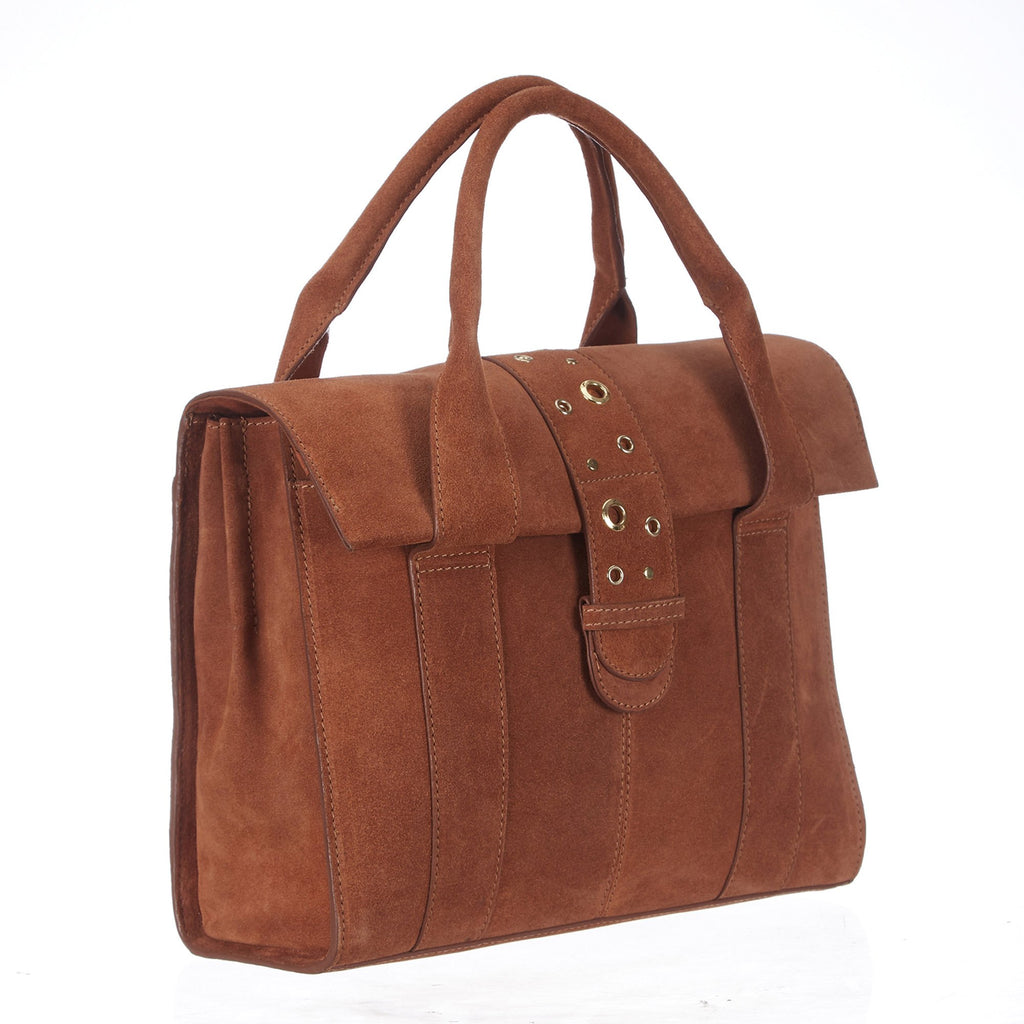Saint Stasia Leather Tote Bag - SaintG India