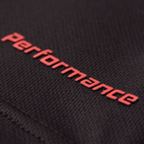 PERFORMANCE T-SHIRT BLACK/RED