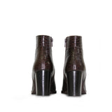 Saint Alexa Brown Leather Boots - SaintG India