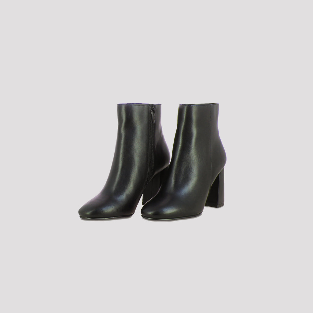 Saint Alexa Black Leather Ankle Boots - SaintG India