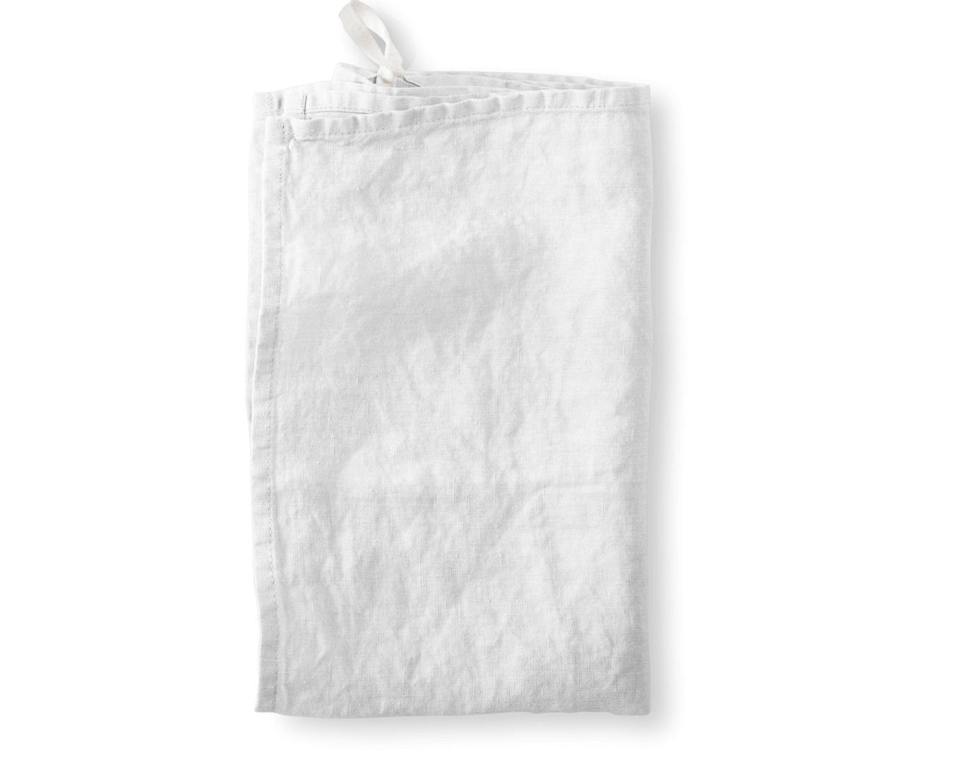 Linen Hand Towels - White