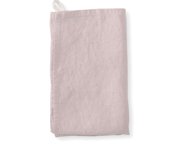 Linen Hand Towels - Rose