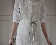 Apron - Dove Grey