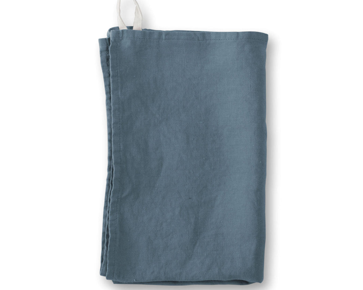 Linen Hand Towels - Parisian Blue