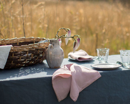 Washed Linen Tablecloths