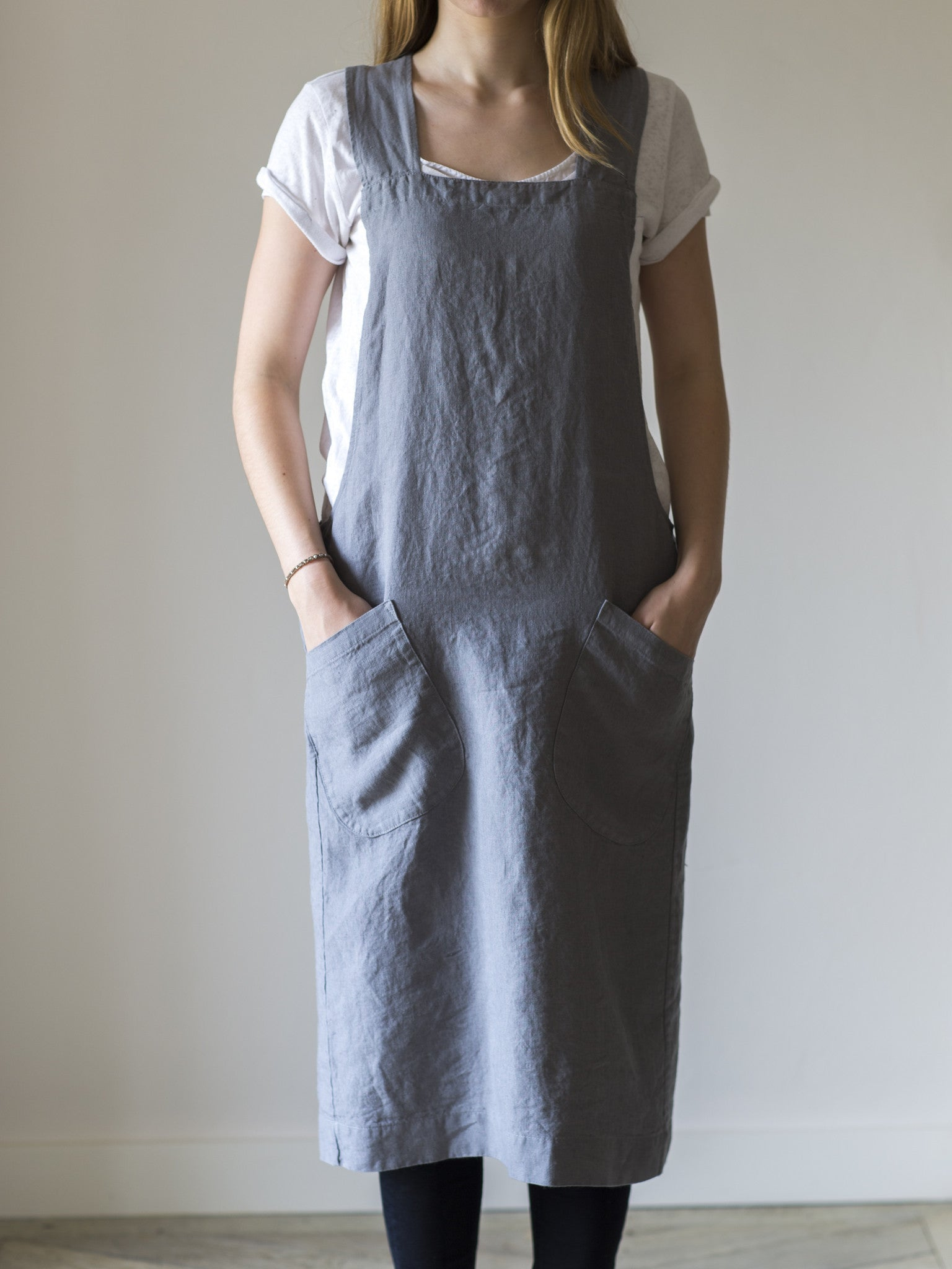 Apron Pinny - Charcoal