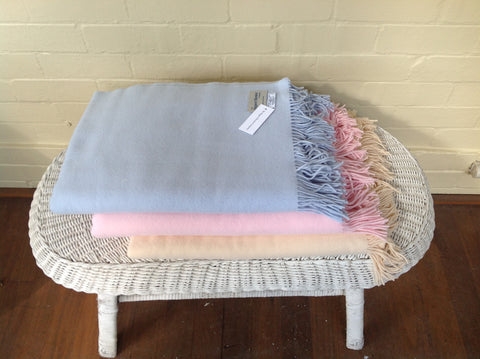 Biggest Blanket Company - Pastel Throws